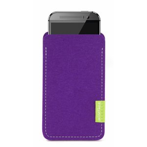 HTC One/Desire Sleeve Purple