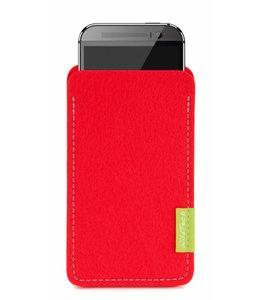 HTC One/Desire Sleeve Hellrot