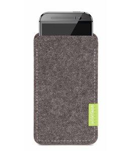 HTC One/Desire Sleeve Grau