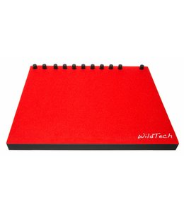 Ableton Push DeckCover Hellrot