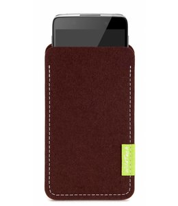 Alcatel One Touch Sleeve Dunkelbraun