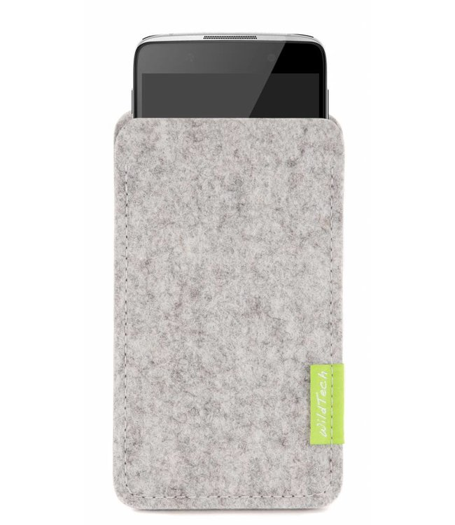 Alcatel One Touch Sleeve Hellgrau