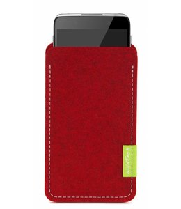 Alcatel One Touch Sleeve Kirschrot