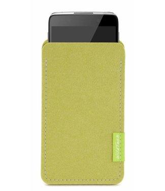 Alcatel One Touch Sleeve Lindgrün