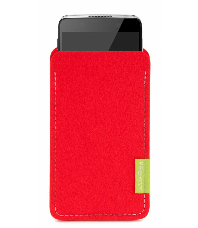 Alcatel One Touch Sleeve Hellrot
