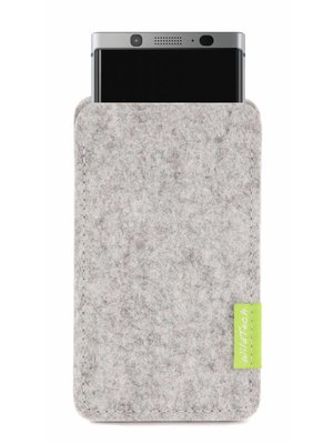 BlackBerry Sleeve Hellgrau