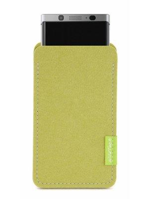 BlackBerry Sleeve Lindgrün