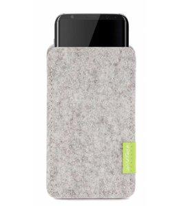 Samsung Galaxy Sleeve Hellgrau