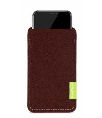 Apple iPhone Sleeve Dark-Brown