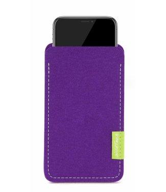 Apple iPhone Sleeve Purple