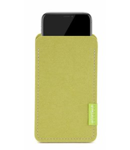 Apple iPhone Sleeve Lindgrün