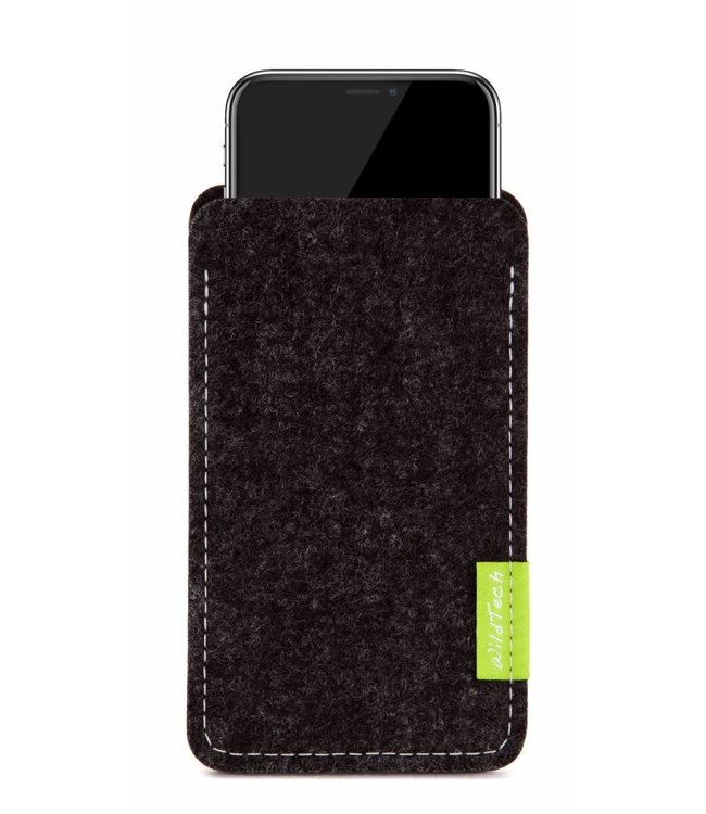 Apple iPhone Sleeve Anthrazit