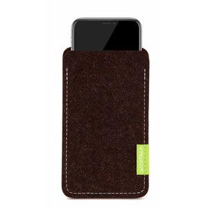 Apple iPhone Sleeve Truffle-Brown
