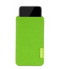 Apple iPhone Sleeve Maigrün