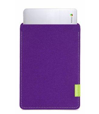 Google Chromebook Sleeve Purple