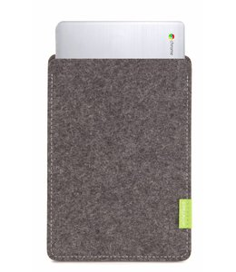 Google Chromebook Sleeve Grau