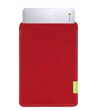 Google Chromebook Sleeve Kirschrot