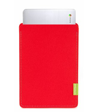 Google Chromebook Sleeve Bright-Red