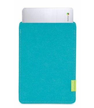 Google Chromebook Sleeve Turquoise