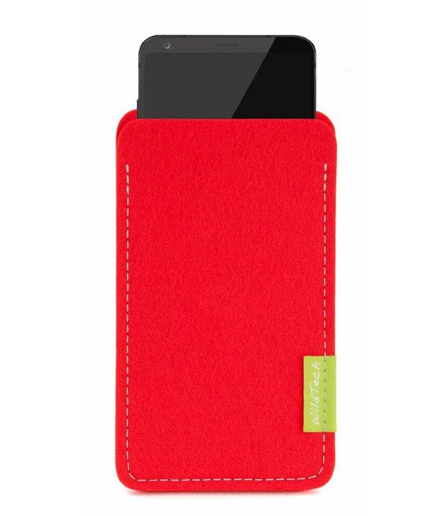 LG Sleeve Bright-Red