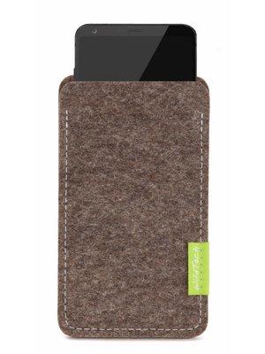 LG Sleeve Natur-Meliert