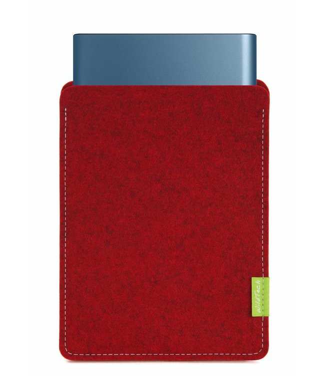 Samsung Portable SSD Sleeve Kirschrot