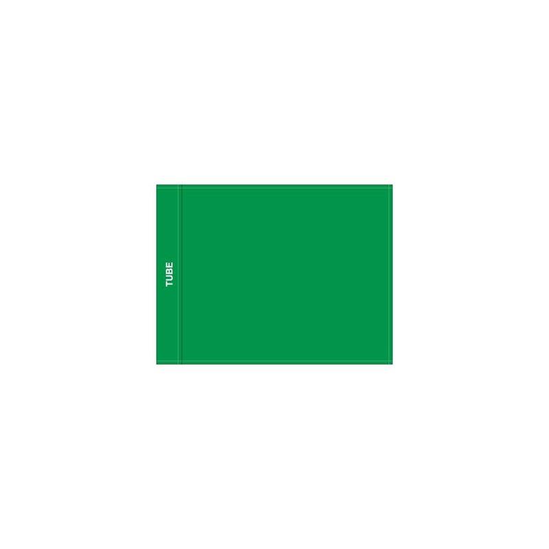 Putting green flag, plain, green