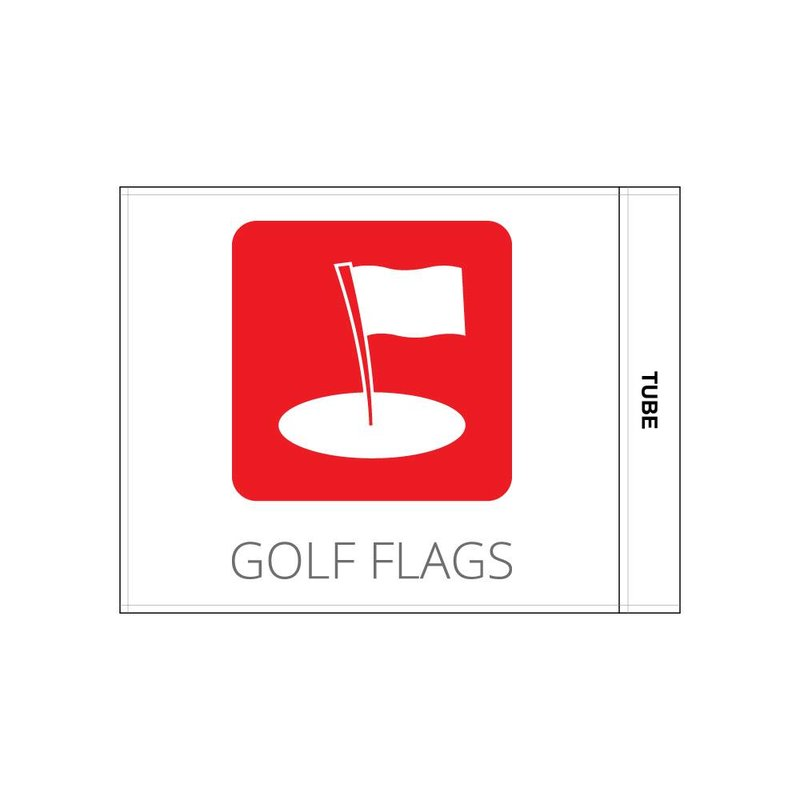 Golf flag, logo
