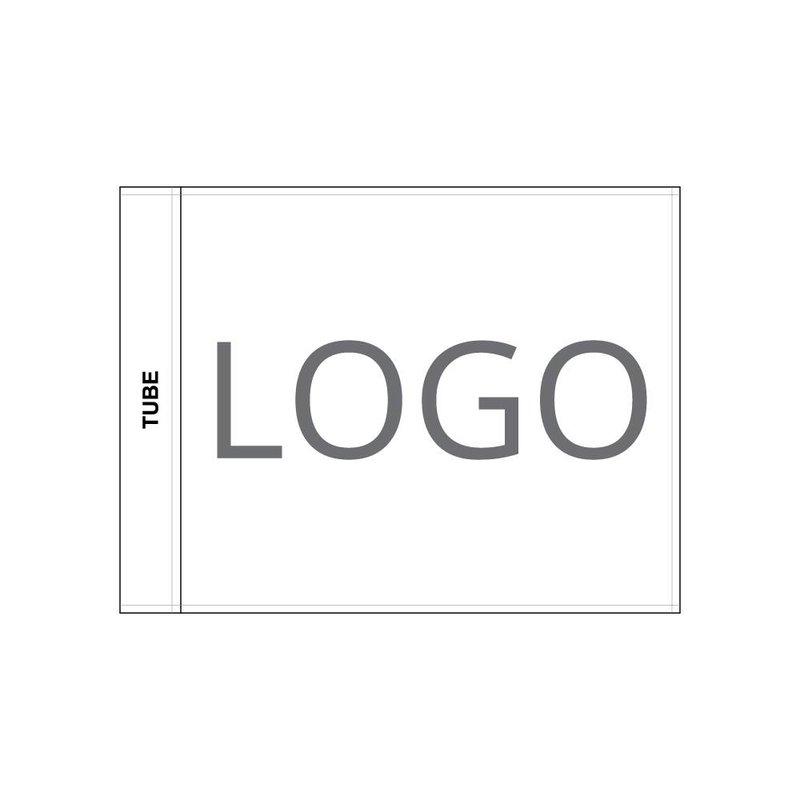 Golfvlag, geborduurd logo