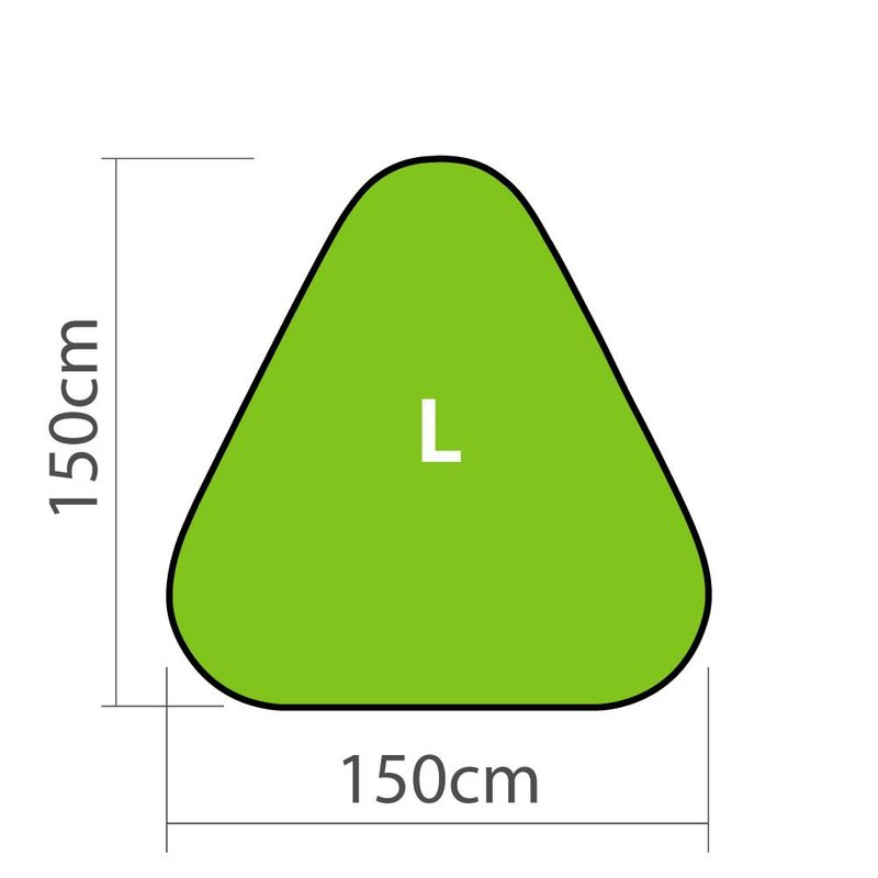 Pop-up Banner Triangle L
