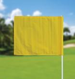 Golfvlag, effen, geel