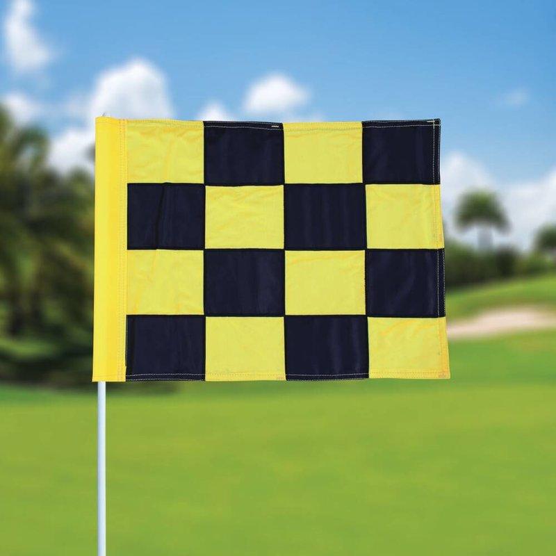 Golfvlag, checkered