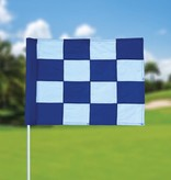 Golf flag, checkered