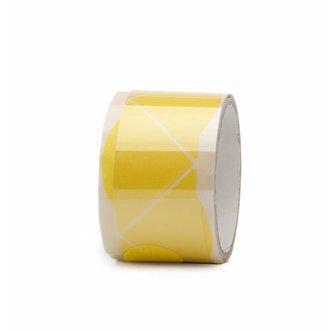 Progold Hoekjes Masking Tape Geel