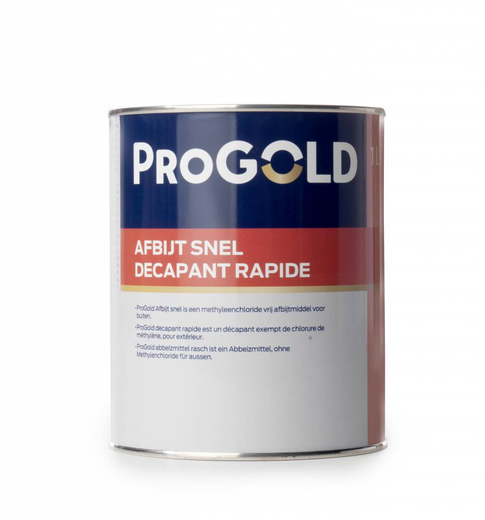 Progold afbijtmiddel snel for Renovlies of glasvlies