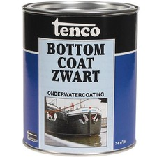 Tenco Bottomcoat Zwart 1L