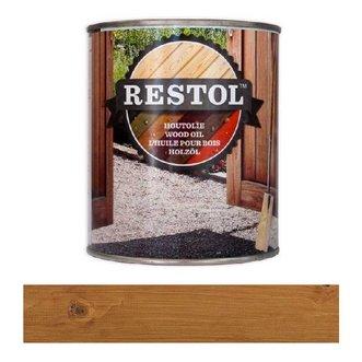 Restol Houtolie Mat Bruin naturel