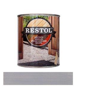 Restol Houtolie Mat lichtgrijs