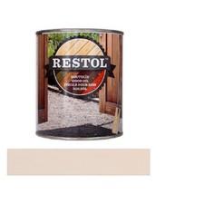 Restol Houtolie Mat Parelwit