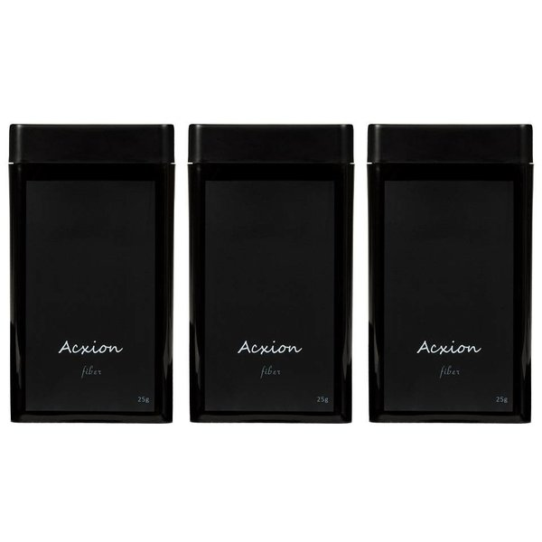Acxion Hair Fibers 75 gr. (3 x 25gr.)
