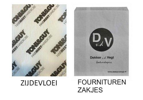 Overige naams bedrukte verpakkingen