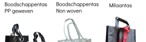 Duurzame tassen:  sterk in prijs &  levertijd 14 weken