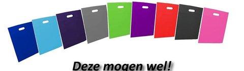 Nonwoven tas uitgestanst handvat -vervanger plastic tassen: sterk in prijs & levertijd 14 weken