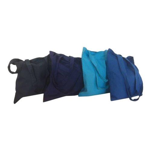 katoenen tassen 38 x 42 cm gekleurd