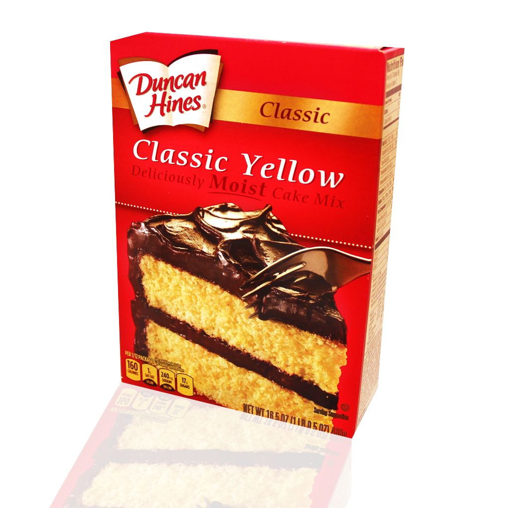 duncan hines yellow cake mix duncan hines cake mixes search engine at search 3776
