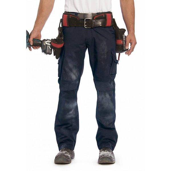 Pantalon de travail pour bâtiment, sécurité et transport