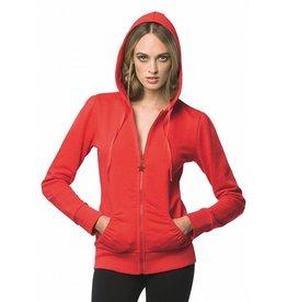 B&C sweat capuche zippé femme