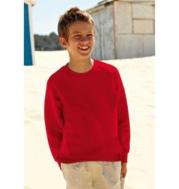 FRUIT OF THE LOOM sweat col rond enfant SC62039