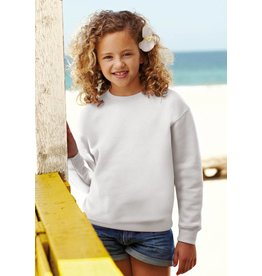 FRUIT OF THE LOOM sweat col rond enfant SC62041