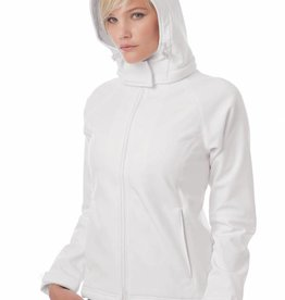 B&C veste capuche softshell femme